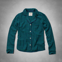 Annabel Flannel Sleep Shirt