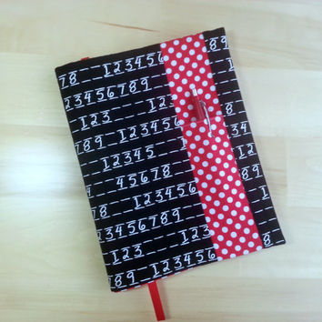 Composition Notebook Cover~ Chalkboard Numbers and Dot ~ Makes a Great Gift