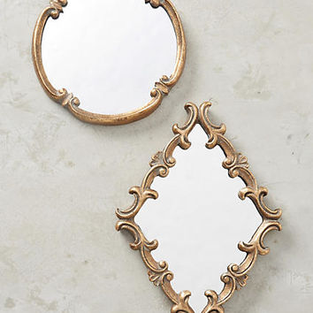 Swirling Crest Mirror