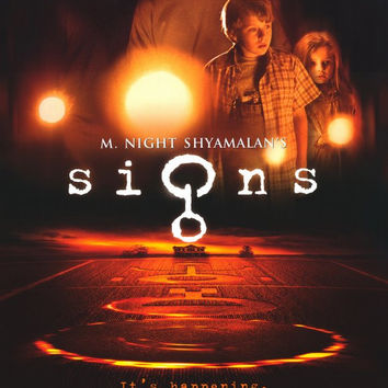 Signs 11x17 Movie Poster (2002)