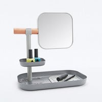 Vana Dressing Table Organiser in Grey - Urban Outfitters