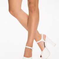 Plain Platform Sandal, NLY Shoes