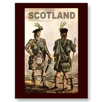 Scotland Art Post Cards from Zazzle.com