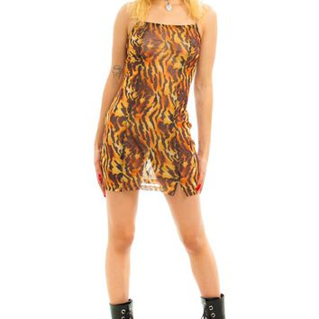 Tiger Mesh Maddy Dress