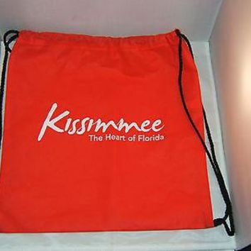 "HOUSTON ASTRO'S SPRING TRAINING - KISSIMMEE RED BACKPACK ""NEW"" 14"" X 14"""