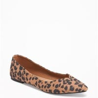 Sueded Pointy Ballet Flats for Women | Old Navy
