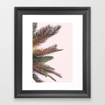 Palm Life Framed Art Print by FRESH