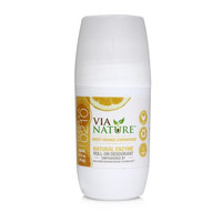 Via Nature Deodorant Roll On Sweet Orange Lemongrass (1x2.5 Fl Oz)