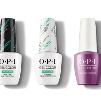 OPI - GelColor Combo - Base, Top & I Manicure for Beads