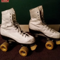 Vintage Roller Skates Roller Derby Skates by PossPalace on Etsy