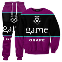 Game Grape Flavored Blunts Tracksuit