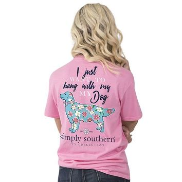 "Simply Southern ""My Dog"" Short Sleeve Tee"