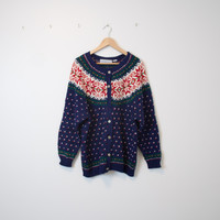 Vintage Winter Nordic Christmas Sweater