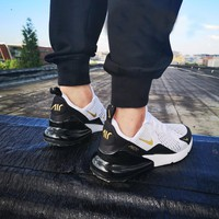 NIKE Air Max 270 Air cushion jogging shoes