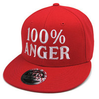 Winfield Authentic Caps|100% ANGER RED OTTO SNAPBACK