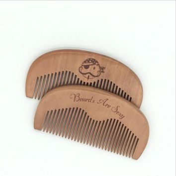 Women Wooden Comb Anti Static  Styling Tool