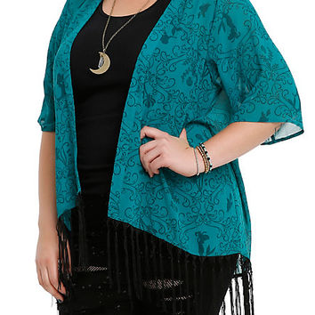Disney The Little Mermaid Kimono Top Plus Size