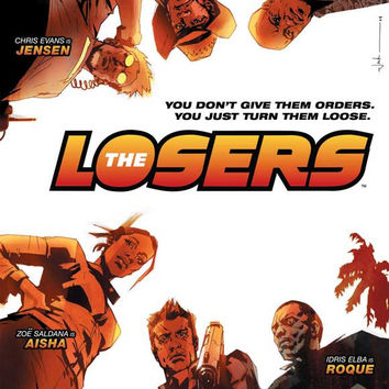 The Losers 11x17 Movie Poster (2010)