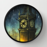 Something for the Nerves Wall Clock by Alice X. Zhang