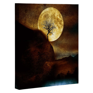 Viviana Gonzalez The Moon and the Tree Art Canvas