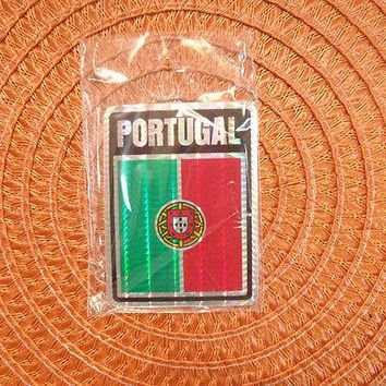"""3x4"" Portugal Stickers  Portugal Flag Decal"