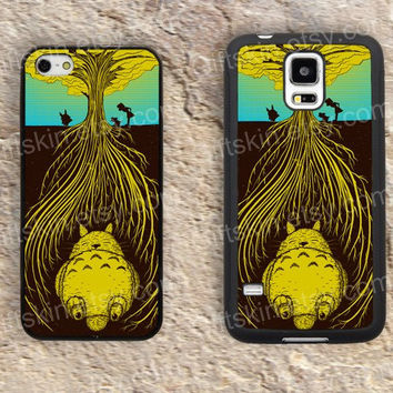 Cartoon Life tree iphone 4 4s iphone  5 5s iphone 5c case samsung galaxy s3 s4 case s5 galaxy note2 note3 case cover skin 133