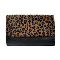 Leopard Clutch Bag Evening Bag