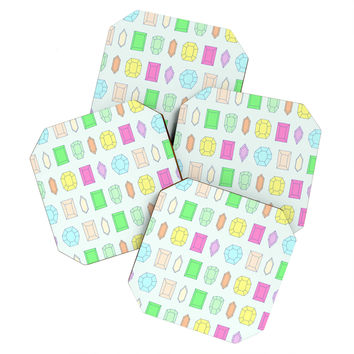 Gabi Crystal Clear Coaster Set