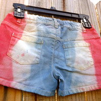 Kids Red White and Blue Shorts