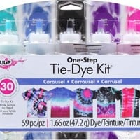 Tulip One-Step Tie Dye Kits Carousel