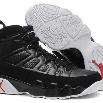 Air Jordan 9 Retro Bred Black Men Basketball Shoes