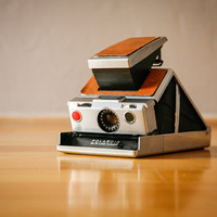 1970s Polaroid SX-70 Vintage Camera from Two Sparrows Vintage
