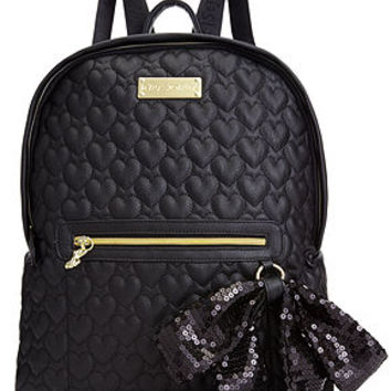 Betsey Johnson Handbag, Quilted Love Backpack