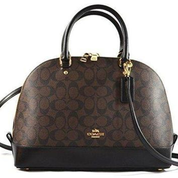 DCK7YE Coach Signature Sierra Satchel Crossbody Bag Purse Handbag