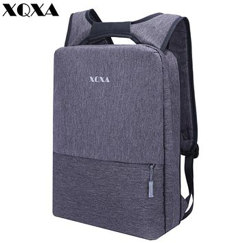 Light Slim Backpack Men Lightweight Laptop Notebook Backpacks Women Waterproof Thin Business Urban Backpack