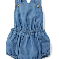 Chambray Bubble Romper for Baby | Old Navy
