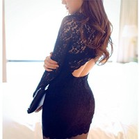 Bodycon Party Dresses - Black