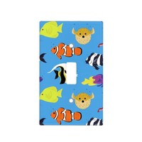 Clownfish and Friends Light Switch Cover