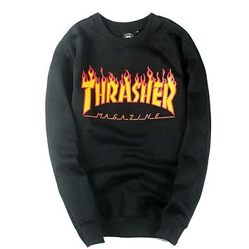 Trendsetter Thrasher Women Men Fashion Casual Top Sweater Pullover