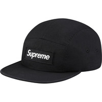 Supreme: Military Camp Cap - Black