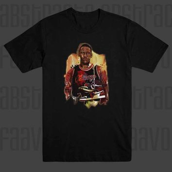 Young Michael Jordan 23 N Carolina Basketball Chicago Bulls T Shirt