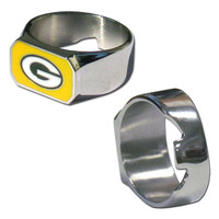Green Bay Packers Steel Ring