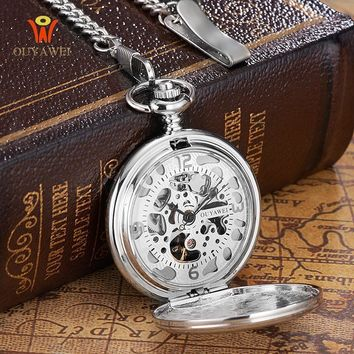 Steampunk Pocket Watch with Cover