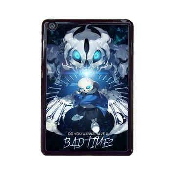 Undertale Sans Do You Wanna Have A Bad Time Cover iPad Mini Case