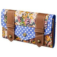 Mossimo Supply Co. Floral Wallet - Blue