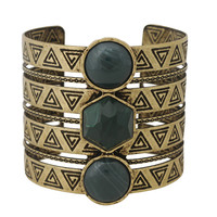 Tribal Stone Cuff | FOREVER21 - 1000038565