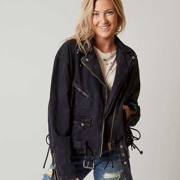 FREE PEOPLE OVERSIZED MOTO JACKET