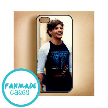 Louis Tomlinson the who iPhone 4/4s 5/5s/5c & iPod 4/5 Rubber Case