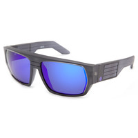 Spy Black Ice Collection Blok Sunglasses Black Ice/Purple Spectra One Size For Men 19865610001