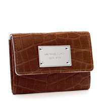 MICHAEL Michael Kors Jet Set Flap Coin Holder, Crocodile - Michael Kors